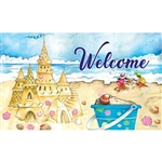 Sand Castle Floormat