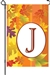 "J Fall Monogram Letter ""J"" Decorative - Garden 12"" x 18""  <span style=""color:#cc0000;"">