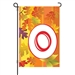 Fall Monogram O Monogram Flag