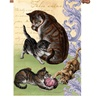 Feline Family Decorative Flag