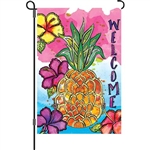 Welcome Pineapple Decorative Flag