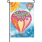 Hot Air Balloons Decorative Flag