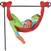 Tree Frog Hammock Non-Inflatable Garden Charm