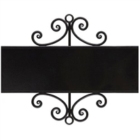 Signature Sign Wrought Iron Wall Holder