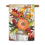 Fall Snippet Decorative Flag