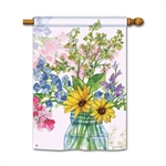 Jars of Sunshine Decorative Flag