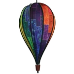Batik Quilt Hot Air Balloon Spinner