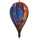 Fall Leaves Hot Air Balloon Spinner
