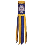"Navy Windsock - 40""L"