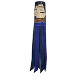 "40"" Pirate Ship Applique Windsock"
