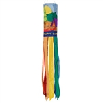 "40"" Tent Camping Applique Windsock"