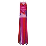 "40"" Valentine's Day Applique Windsock"