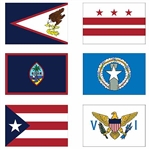 U.S. Territories Flags