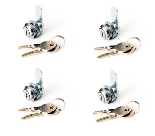 4-pack CL941 Cam Locks - Keyed Alike
