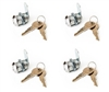 4-pack CL945 Cam Lock - Keyed-alike
