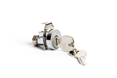 Universal Mailbox Lock With Dust Cover No Cams Clockwise