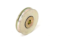 "Replacement rollers for sliding glass, patio, and screen doors, 1-1/2"" Steel Ball-bearing Rollers, CRL/PrimeLine D1502"