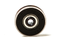 "1-1/2"" Nylon Rollers with Stainless Steel Outer Tire, Sealed Ball-bearings (2-pack)"