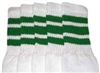 Kids socks with Green stripes