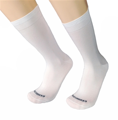 Mens White Italian Dress socks
