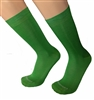 Mens Bandiera Green Italian Dress socks