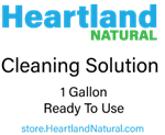 Heartland Natural Cleaning Solution -1 Gallon Ready to Use