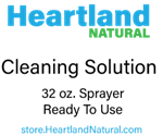 Heartland Natural Cleaning Solution 32 oz RTU