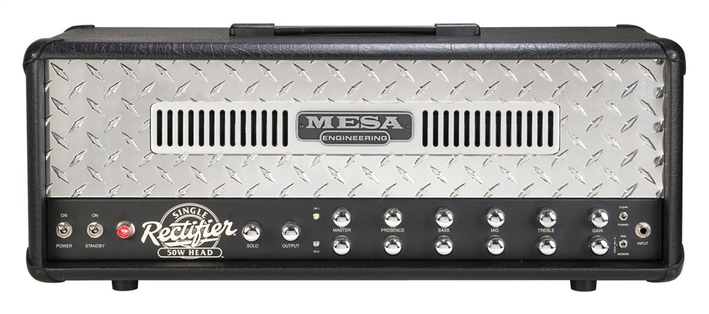 mesa boogie single rectifier solo 50 head like new