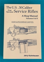 Book M1 Garand Shop Manual by Jerry Kuhnhausen
