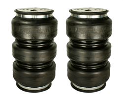 "[2] Pack Universal Air Suspension ""Triple Play"" Air Bag 3/8"" NPT Port (For Light weight Application, Only For Rear), Sold as pair!"