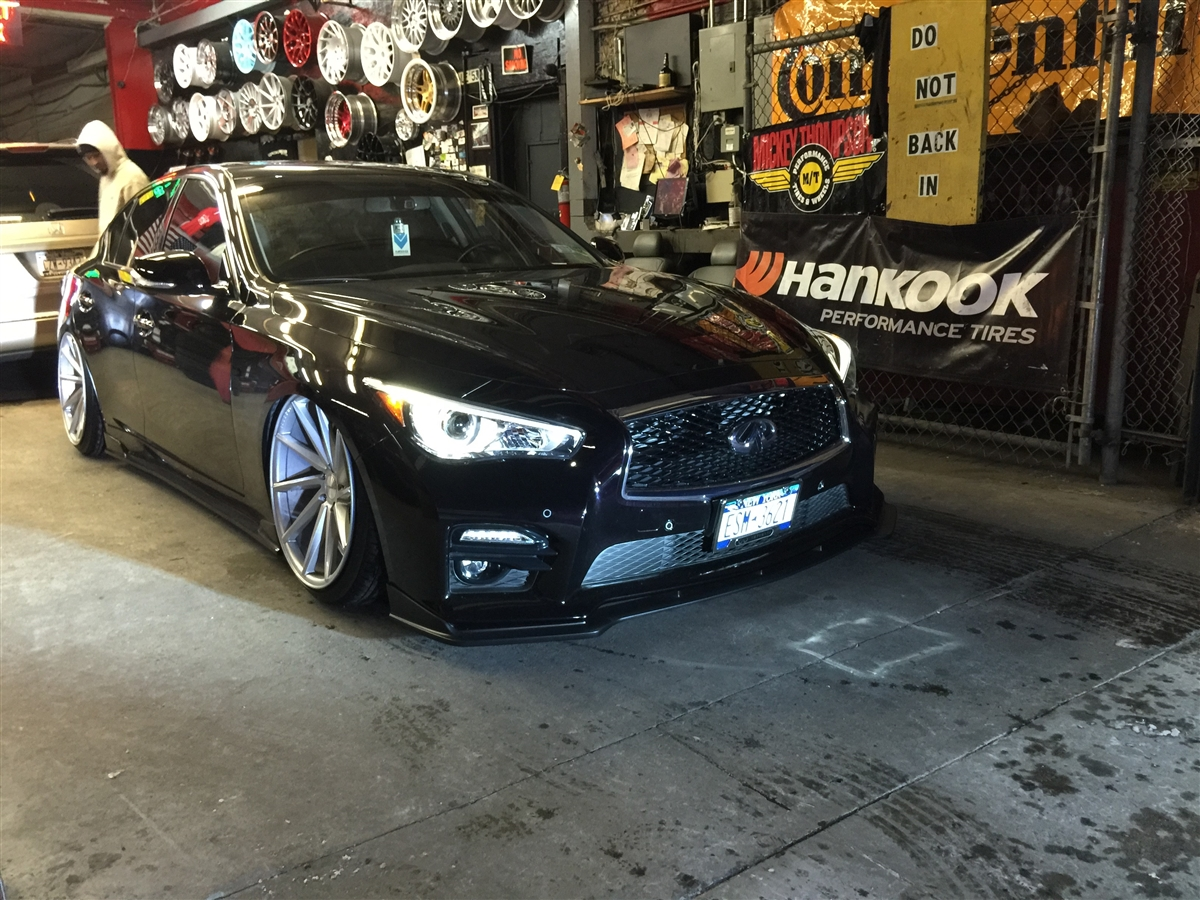 Infiniti Q50 2014+ with air management options