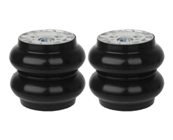 "[2] Pack Slam RE-6 Single 1/2"" Port Air Spring 200 PSI Evolution Series 6"" Diameter, Sold as pair!"