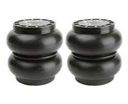 "[2] Pack Slam Specialties SS-5 Air Spring 1/2"" port 250 Psi 5.5"" Diameter"