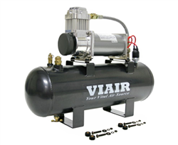 Viair 100% Duty Cycle @100 PSI (55% @200PSI) 23 AMP Draw 200 PSI Max Air Source Kit