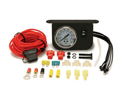 Illuminated Dash Panel Gauge Kit (200 PSI, 30 Amp)