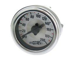Air Lift Single Needle 200 Psi White Face Gauge with Barbed Fitting on Back side, sold each!