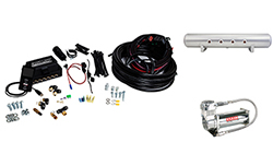 "Air Lift Performance 3P (1/4"" Air Line, 5 Gallon Lightweight Raw Aluminum Tank, VIAIR 444C Compressor)"
