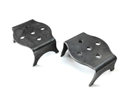 Over axle bag brackets