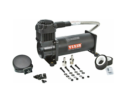 VIAIR 444C Black Single Air Compressor 200 PSI Max. w FREE Pressure Switch & 40AMP Relay FREE SHIPPING