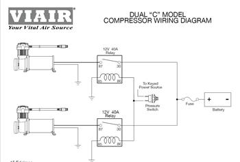 Viair Compressor Wiring - Wiring Diagram Source on pilot relay wiring diagram, 5 pin relay wiring diagram, msd relay wiring diagram, superwinch relay wiring diagram, ford relay wiring diagram, bosch relay wiring diagram, compressor relay wiring diagram, hella relay wiring diagram,