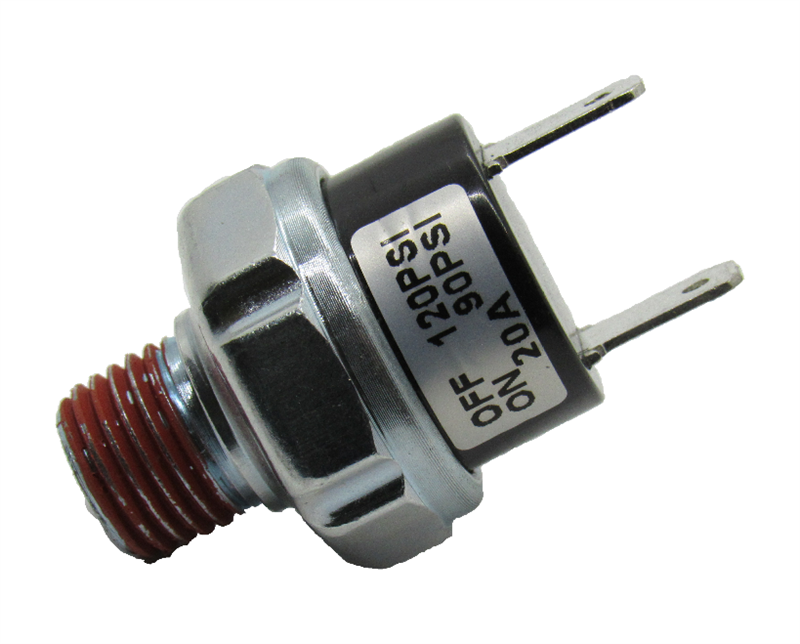 140 PSI ON 175 PSI OFF Sealed Pressure Switch 12V 20 AMP for Air Compressors