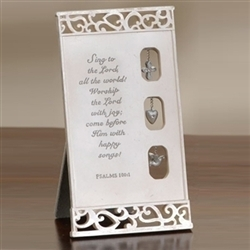 Communion Plaque with Verse and Charms - ACC-GIFT026
