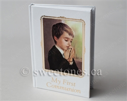 Boys First Communion prayer book - ACC-GIFT029