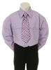 Boy dress shirt blue