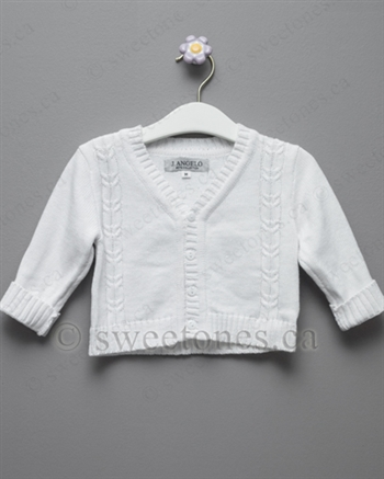 boys baptism Christening sweater
