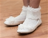 Girls dress ivory socks
