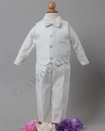Boys Baptismset Christening Outfit