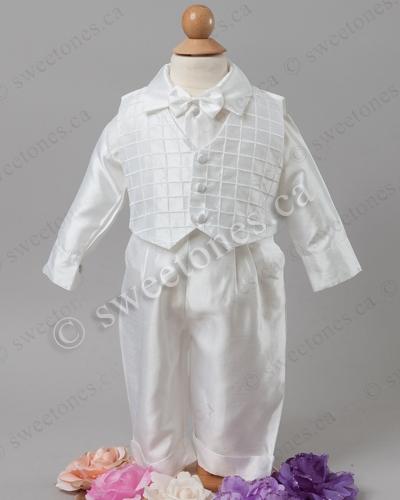 151d8678e Boy silk Christening outfit, boy silk Christening gowns, Silk ...