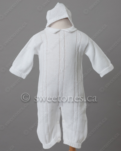 082af08dac72 Boy knitted Christening outfit