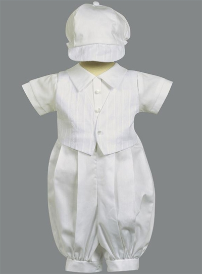 349b58464 Sweet Ones Boutique-Boy cotton Christening outfit, cotton ...